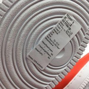 Nike Shoes - Nike Orange Team SF Air Force 1 Mid G0811661